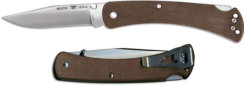 BUCK SLIM HUNTER 0110BRS4-B