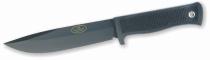 Fallkniven A1 negro + funda cuero