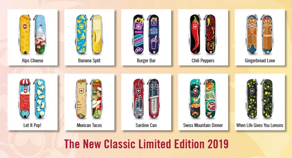 VICTORINOX CLASSIC 2019 CHILI PEPPERS