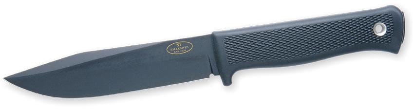 Fallkniven S1 VG10 negro + funda zytel