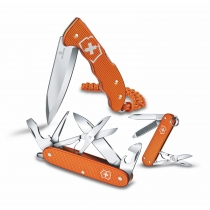 (PRECOMPRA) VICTORINOX PACK ALOX (PIONEER X, HUNTER PRO, CLASSIC) TIGER ORANGE SERIE LIMIT. 2021