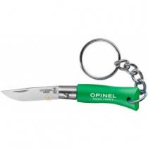 Opinel Nº2 Inox Verde llavero