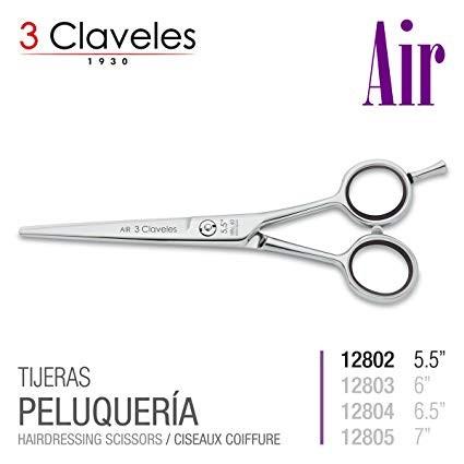 3 CLAVELES PELUQUERIA 12802 - 5,5 PULGADAS