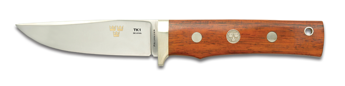 Fallkniven TK1 3G cocobolo + funda de cuero