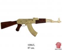Fusil de asalto AK47 DORADO