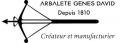 ARBALETE GENES DAVID (LE THIERS)