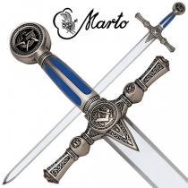 MARTO ESPADA MASONICA PLATA (776)